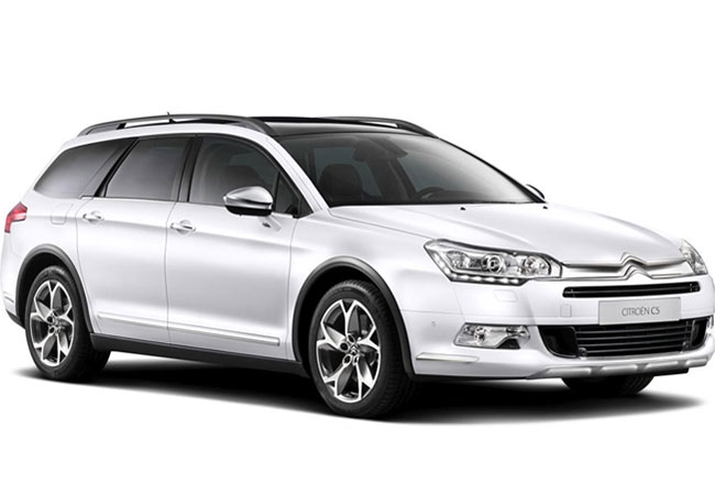 Rent A Citroen C5 and get 15% Off!