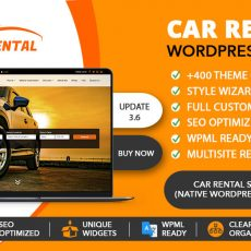 WP Car Rental Theme Image
